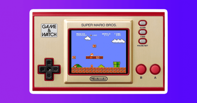 interesting gift guide 2020 nintendo game and watch mario