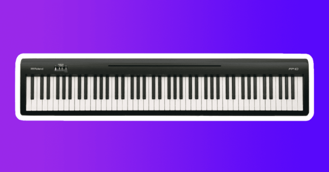 roland fp10 digital piano gift for musicians