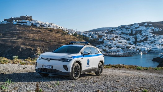 Astypalea will have an all-electric fleet of authority vehicles