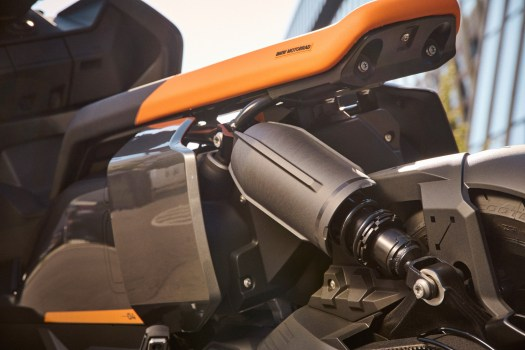 The motor has a maximum output of 31 kW.