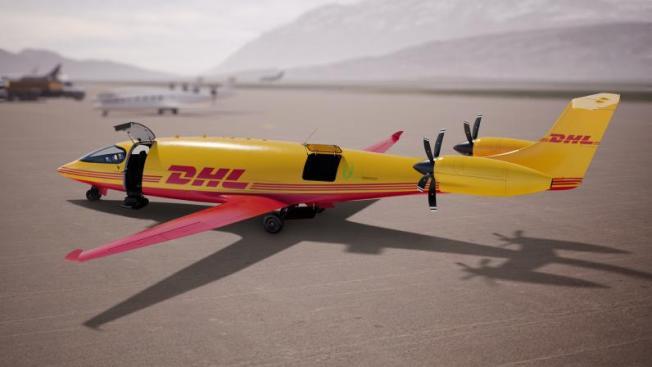 DHL commande 12 avions électriques à Eviation.