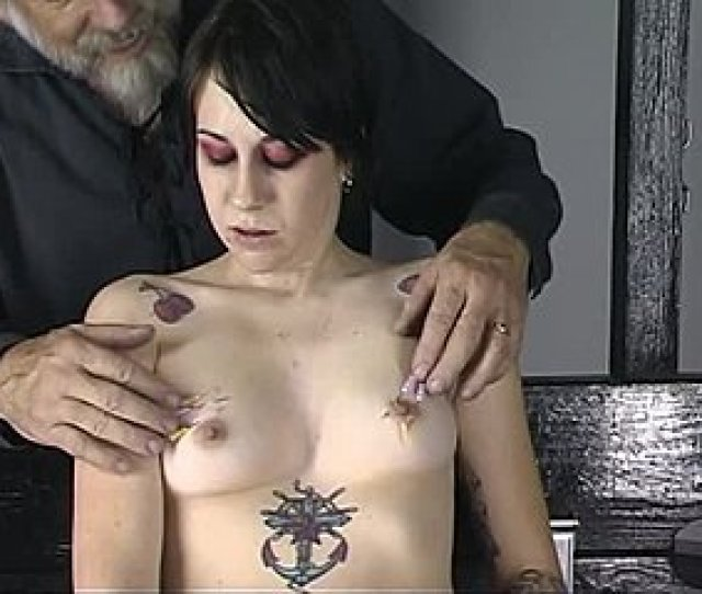 Young Tattooed Brunette Gets Her Nips And Tits Tortured With Needle Play Tubev Sex Sl