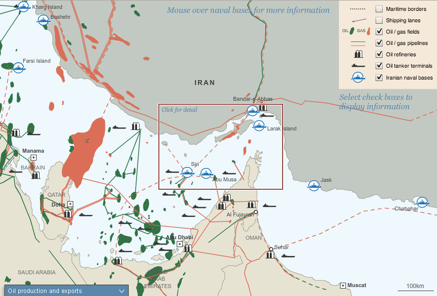 Oil, trade, and militarism in the Strait of Hormuz