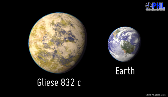 Gliese_832c_and_earth