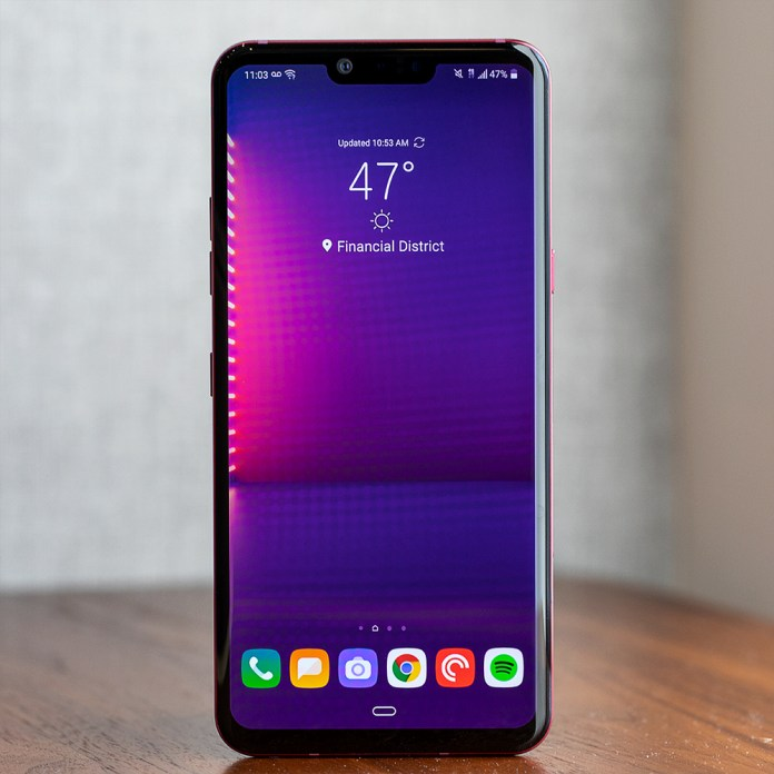Lg G8 Thinq Review Many Gimmicks Not Enough Progress The Verge