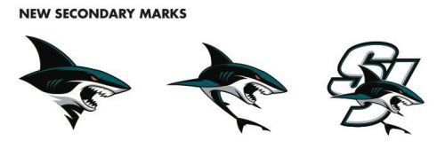 Image result for san jose sharks secondary marks