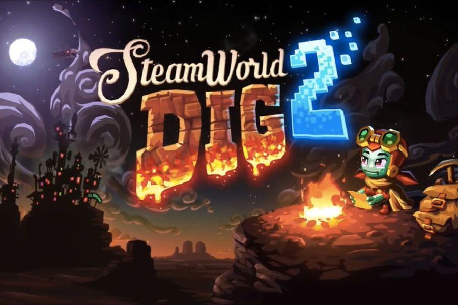 Image result for SteamWorld Dig 2