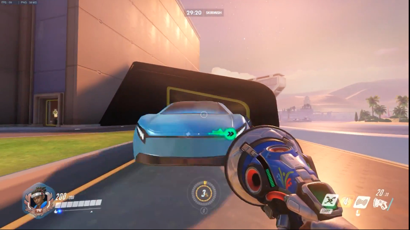 Overwatchs Oasis Map Adds A New Threat Cars Polygon