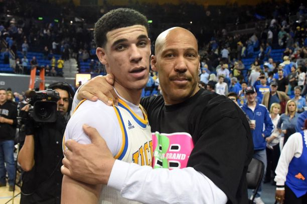 Image result for Lavar ball and his sons