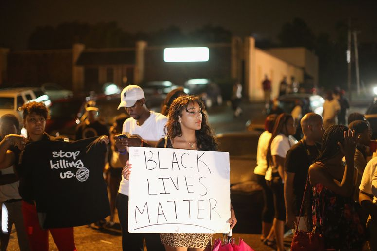 Ferguson Protest Black Lives Matter