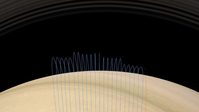 Sonda Cassini encerra missão com mergulho inédito nos anéis de Saturno