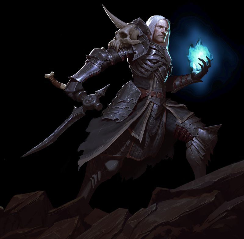 Male Necromancer in Diablo 3