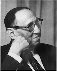 Leo Kanner, circa 60 years of age, 1963.