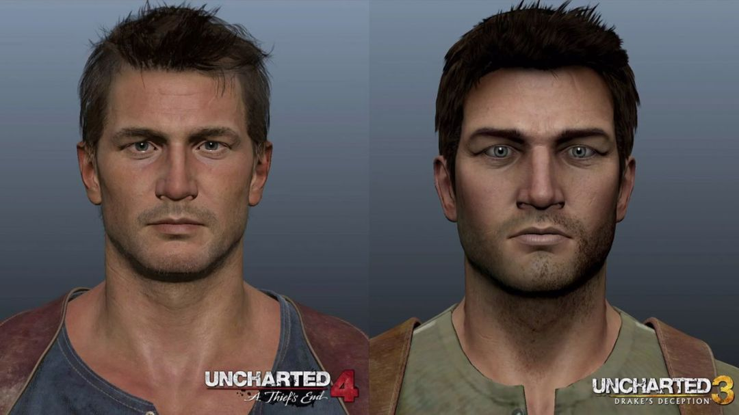 Naughty Dog Compares Uncharted 4's Nathan Drake To Uncharted 3 1