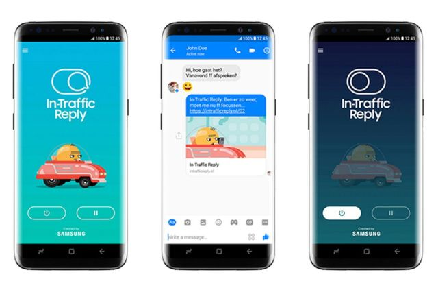 In Traffic Reply App main 1.0 In Traffic Reply: Samsung Upcoming New App For Their User