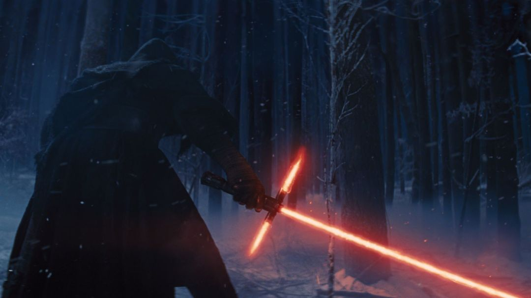 Image result for three sided lightsaber gif