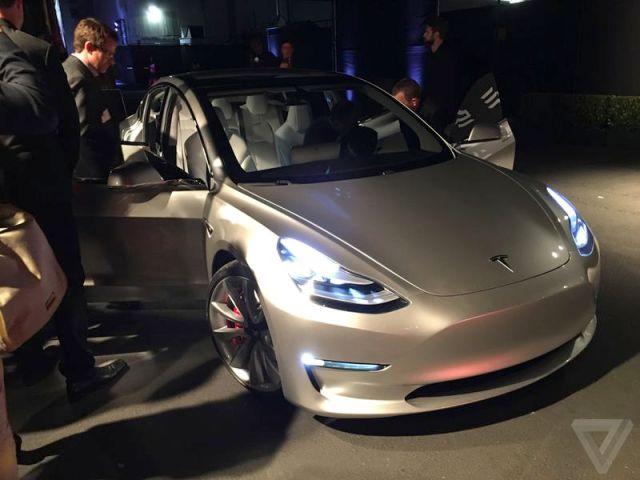Tesla Model 3 Exterior