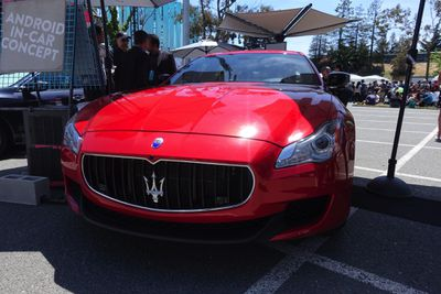 Android N in a Maserati Photos