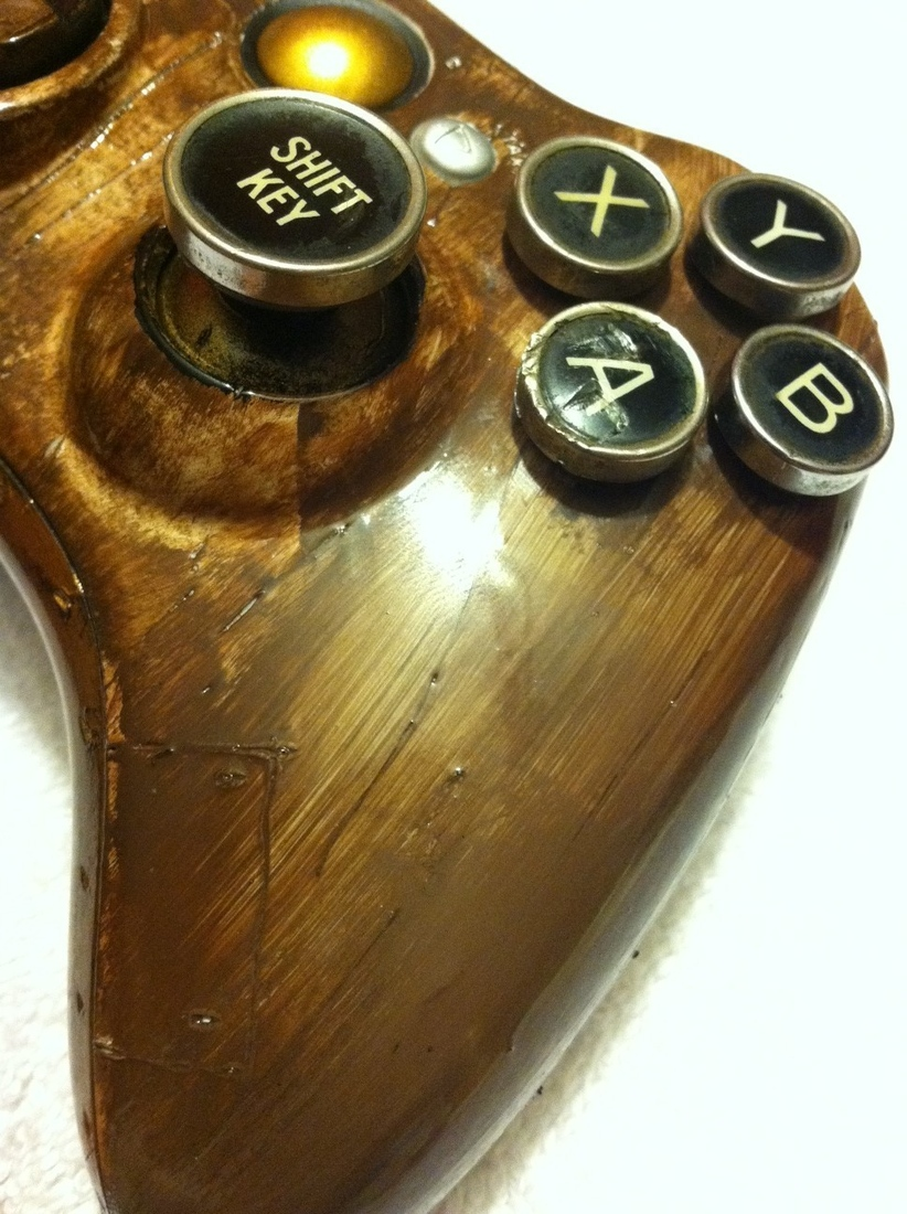 Xbox 360 Steampunk Controller Hits EBay Custom Built With
