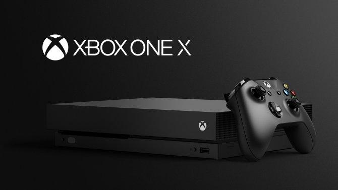 Xbox One X, o mais potente console já criado. Imagem de divulgação.