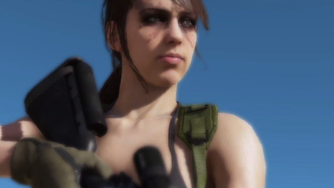 Watch The Creation Of Metal Gear Solid 5's Sniper Quiet