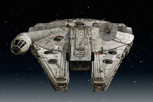Millennium Falcon Appears To Take Shape In New Star Wars