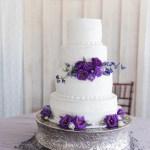18 Purple Wedding Cakes For Any Season Style Weddingwire