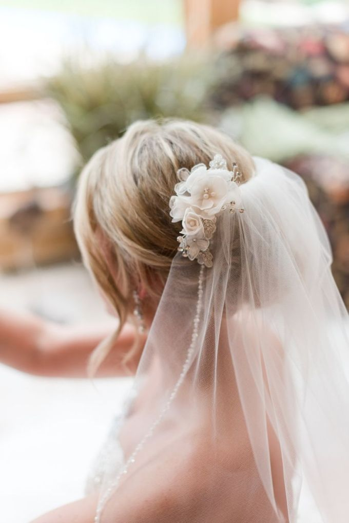 how to wear a veil with every wedding hairstyle - weddingwire