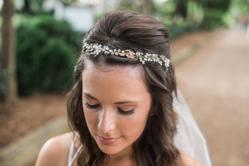 before you set out to peruse all the sparkly options out there arm yourself with this wedding hair accessories glossary