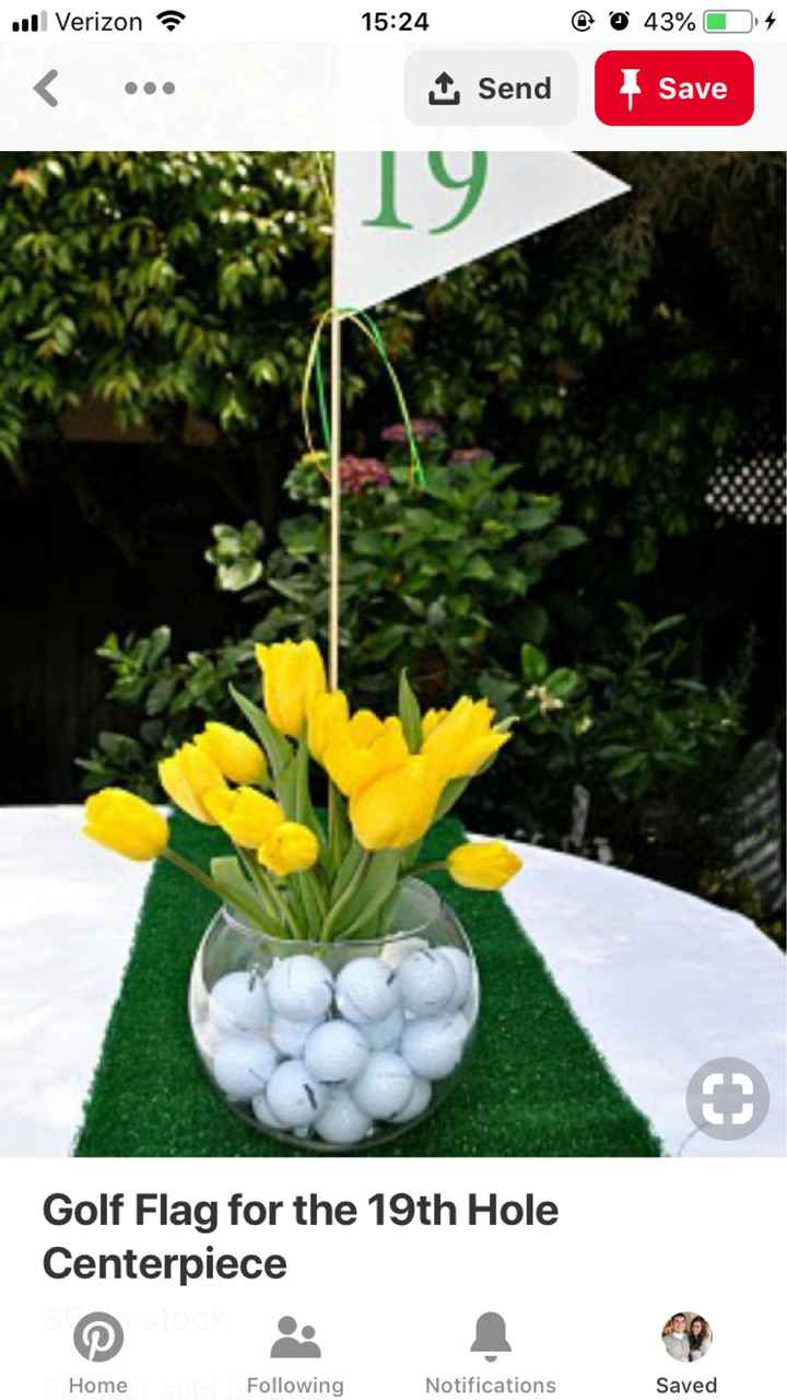 centerpieces for rectangle shaped