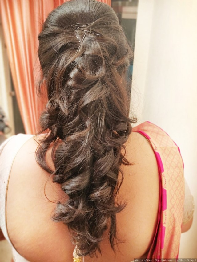 15 christian bridal hairstyles for the indian bride