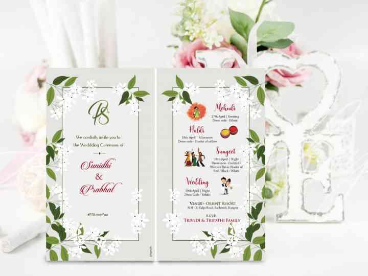 wedding card online