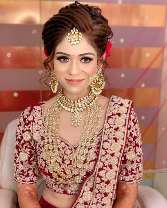 here are some indian bridal makeup images to give you some much