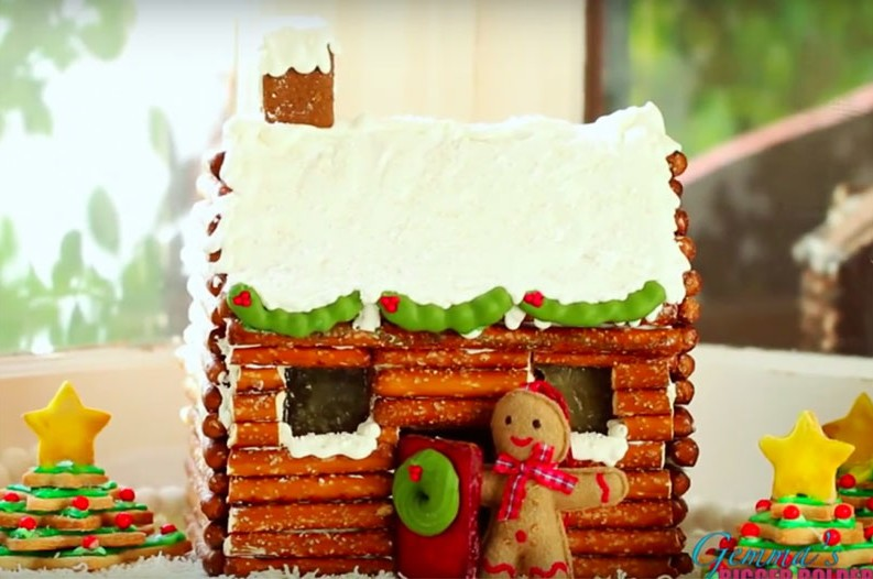 Make Your Own Rustic Gingerbread Log Cabin This Season However it is widely known that gingerbread is the ruler of the Christmas  cookie world  Leave those boring gingerbread house kits at