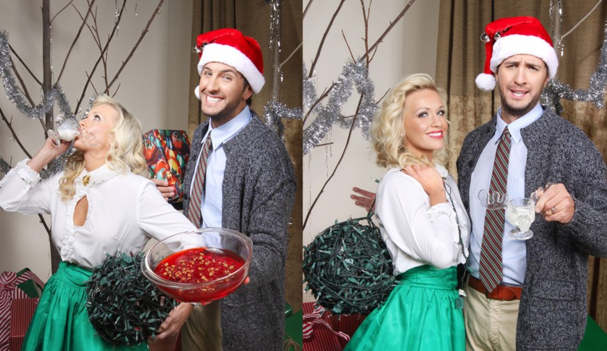 Luke And Caroline Bryan Release Hilarious Holiday Card