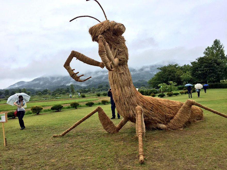 Αποτέλεσμα εικόνας για αγαλματα ζώων από στάχυ
