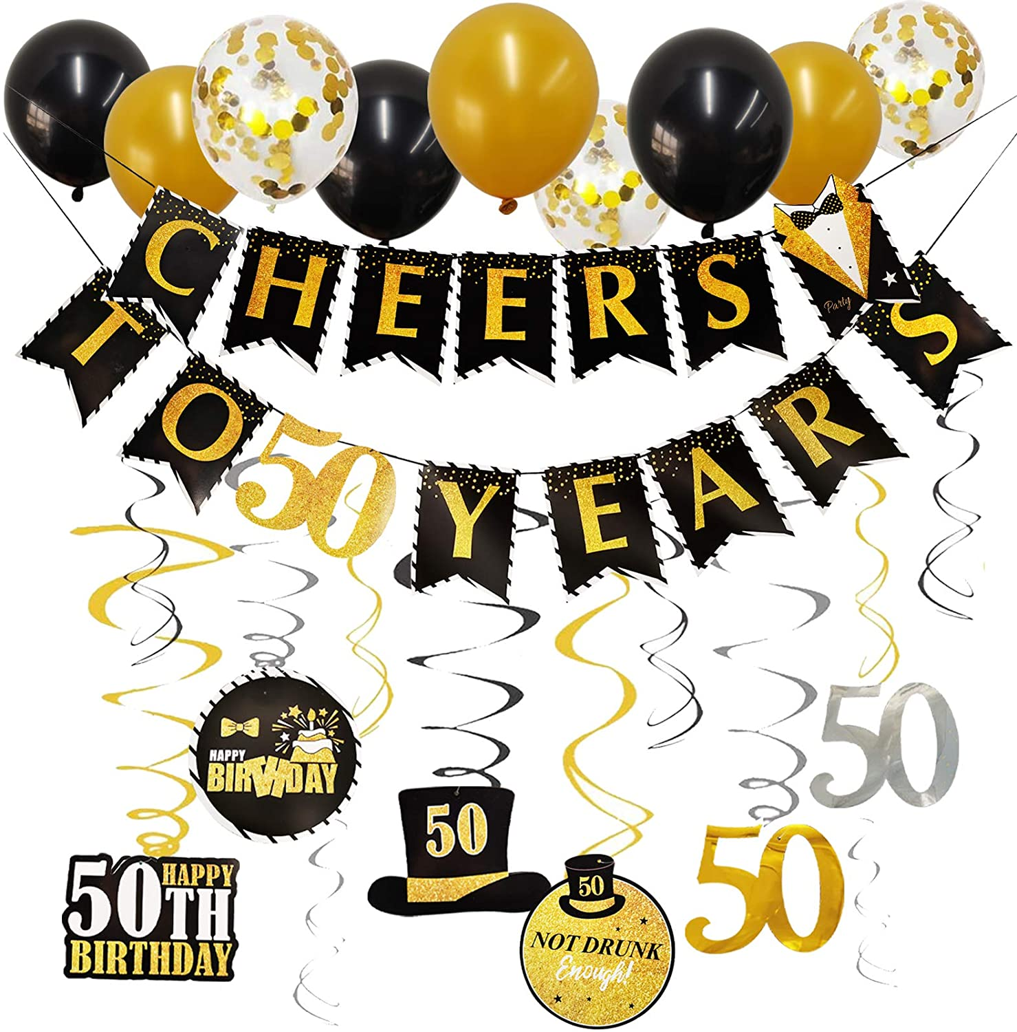50th Birthday Party Decorations That Will Make Your Party Fabulous