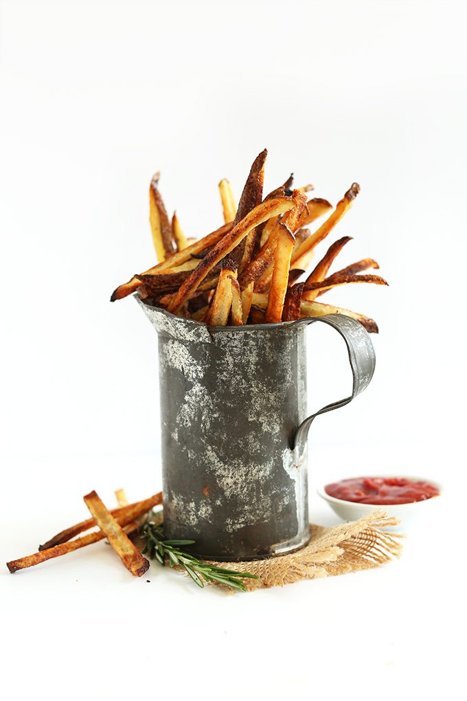 Oven-Baked-Matchstick fries