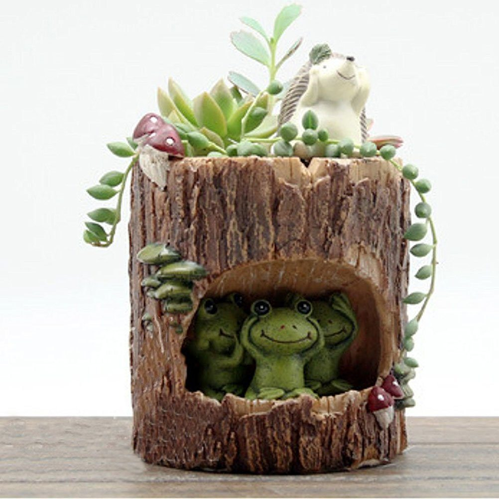7 Different Animal Shaped Succulent Planters Just In Time