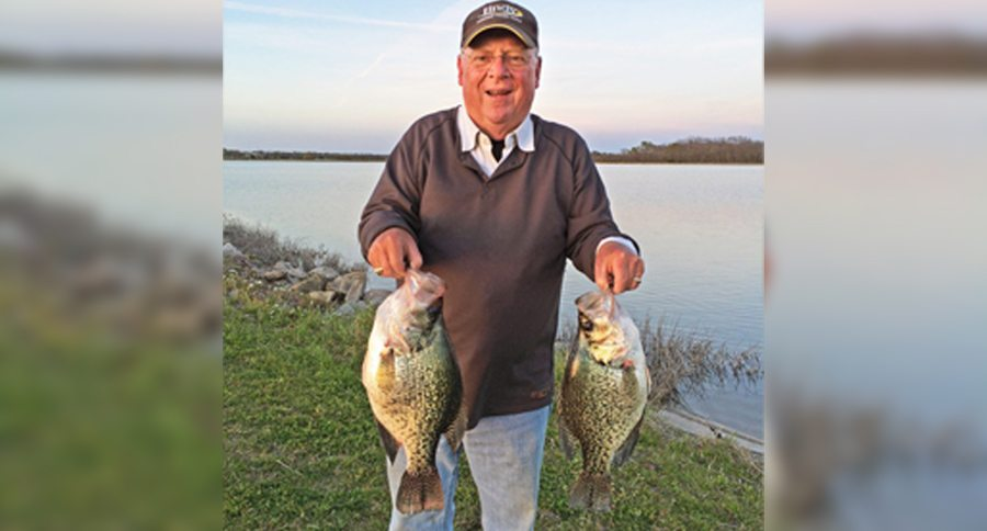 Oklahoma Man Catches One Of The Biggest Crappie The State