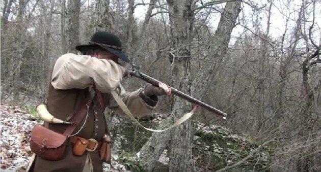 Flintlock Hunting Rifle