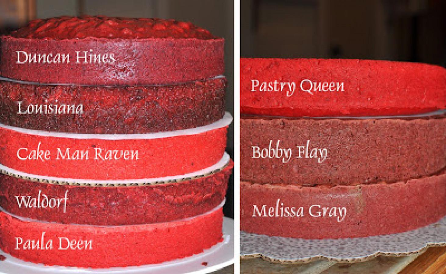 Ultimate Red Velvet Cake Taste Off