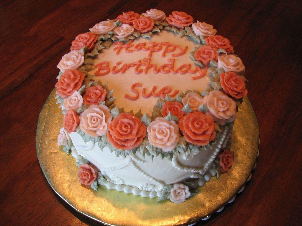 Happy Birthday Sue Cakecentral Com