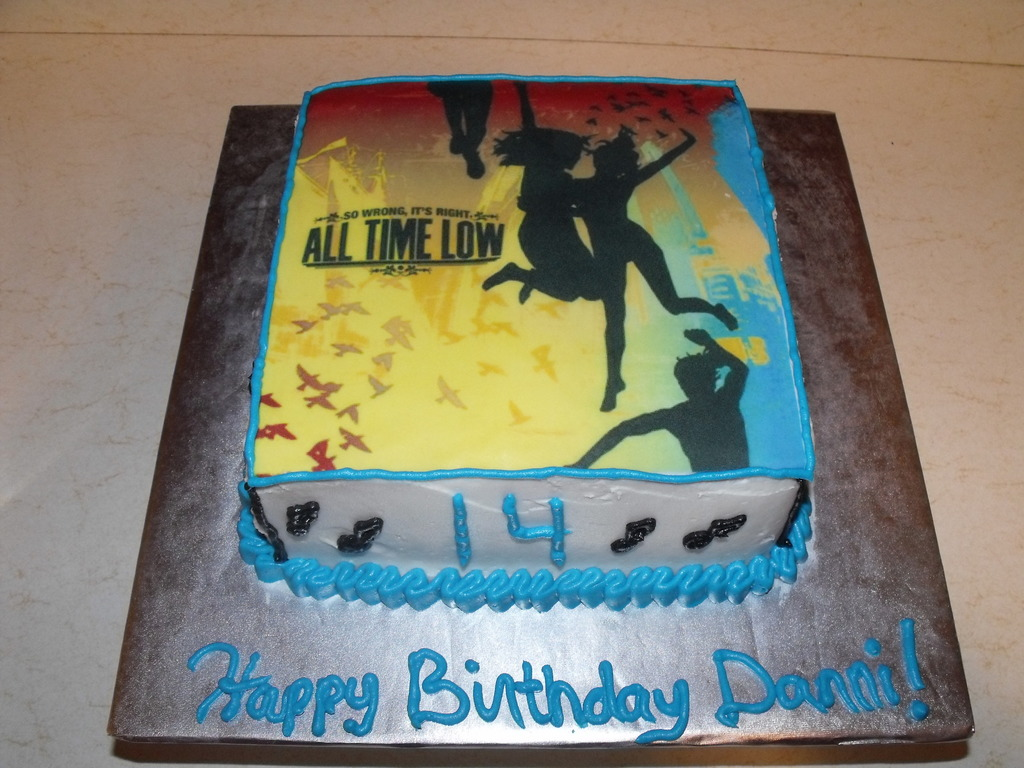 All Time Low Birthday Cake Cakecentral Com
