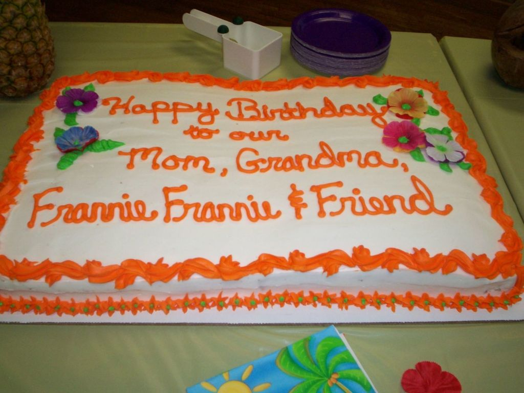Grandma S Birthday Cake Cakecentral Com