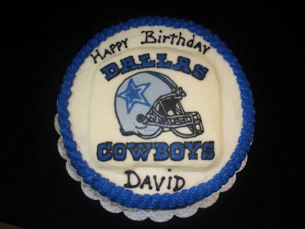 Dallas Cowboys Fan Birthday Cakecentral Com