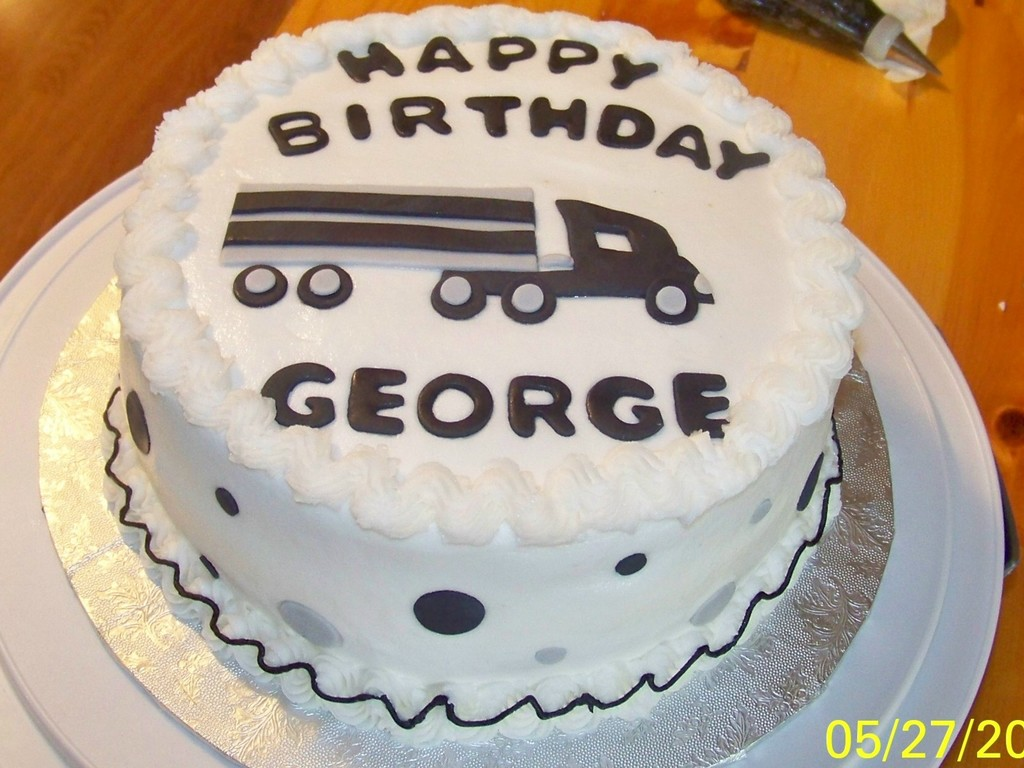 Happy Birthday George Cakecentral Com