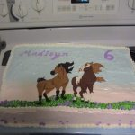Disney S Spirit The Horse Cake Cakecentral Com