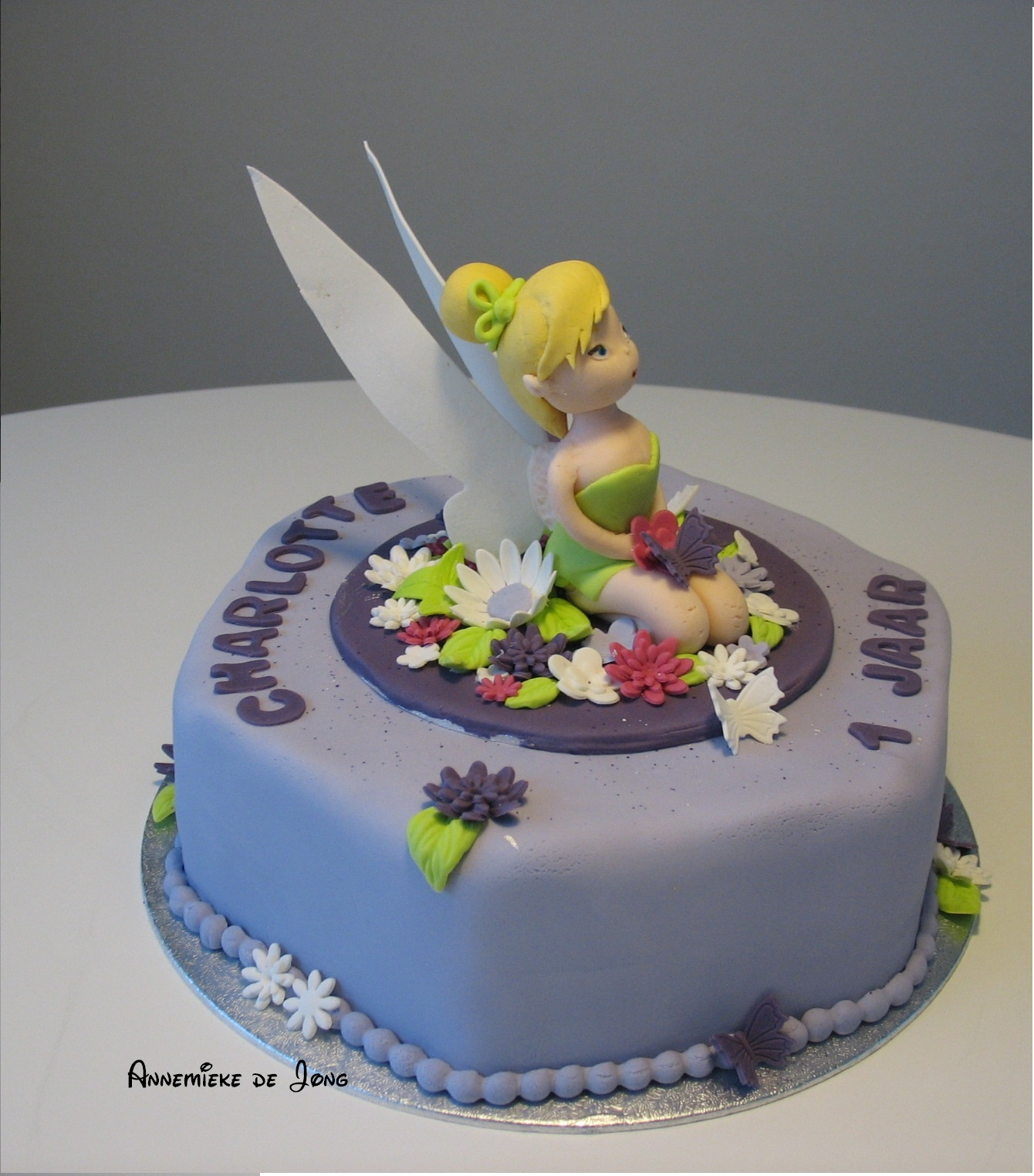 Tinkerbell B Day Cake Cakecentral Com