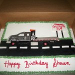 Tow Truck Birthday Cake Cakecentral Com